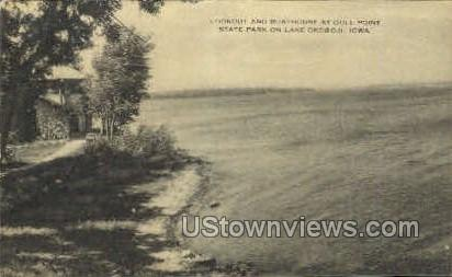 Gull Point State Park - Lake Okoboji, Iowa IA Postcard