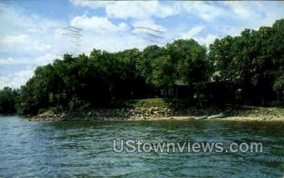 Gull Point - Lake Okoboji, Iowa IA Postcard