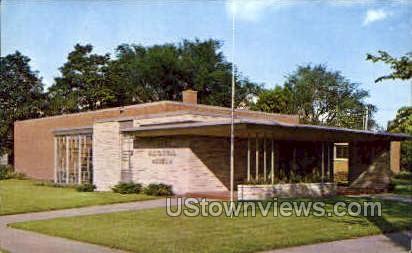 Grout Historical Museum - Waterloo, Iowa IA Postcard