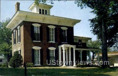 Russel Lamson House - Waterloo, Iowa IA Postcard