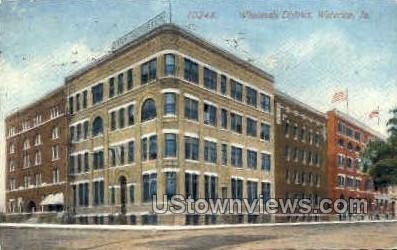 Wholesale District - Waterloo, Iowa IA Postcard