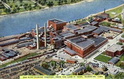 Rath Packing Company - Waterloo, Iowa IA Postcard