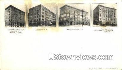 Commercial Building - Waterloo, Iowa IA Postcard