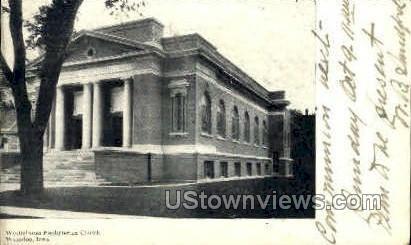 Westminster Presbyterian Church - Waterloo, Iowa IA Postcard