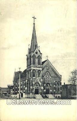 St. Mary's Church - Waterloo, Iowa IA Postcard