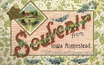 Misc, Iowa,;    Misc, IA Postcard