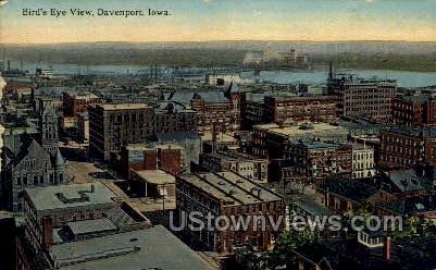 Davenport, IA,;    Davenport, Iowa Postcard
