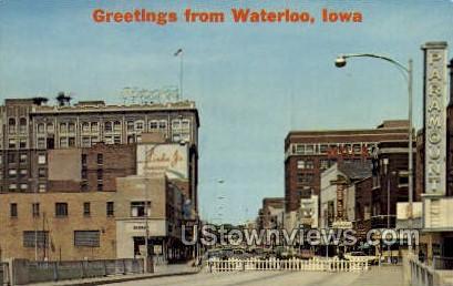 Waterloo, Iowa,;    Waterloo, IA Postcard