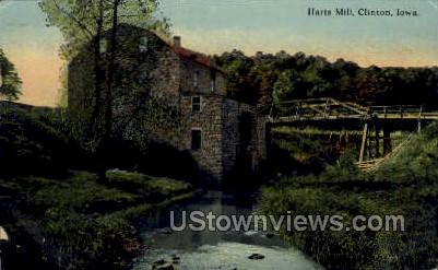Harts Mill - Clinton, Iowa IA Postcard