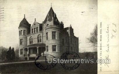 Smith's Villa School - Sioux City, Iowa IA Postcard
