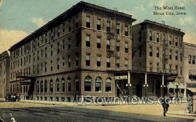 West Hotel - Sioux City, Iowa IA Postcard