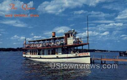 The Queen - Lake Okoboji, Iowa IA Postcard