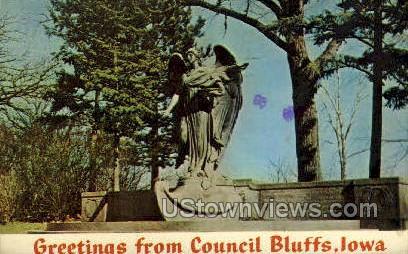 Council Bluffs, Iowa,;    Council Bluffs, IA Postcard
