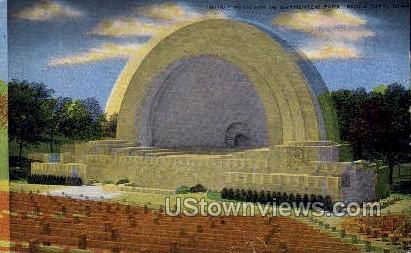 Music Pavilion, Grandview Park - Sioux City, Iowa IA Postcard