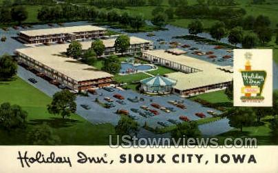 Holiday Inn - Sioux City, Iowa IA Postcard
