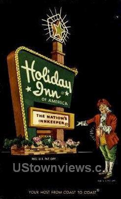 Holiday Inn - Waterloo, Iowa IA Postcard