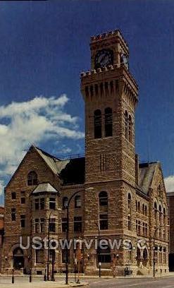 City Hall - Sioux City, Iowa IA Postcard