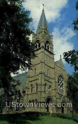 Sacred Heart Catholic Cathedral - Davenport, Iowa IA Postcard