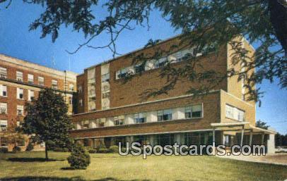 Allen Memorial Hospital - Waterloo, Iowa IA Postcard