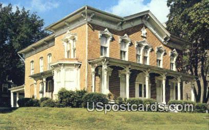 Snowden House 1881 - Waterloo, Iowa IA Postcard