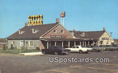 Little Amana - Misc, Iowa IA Postcard