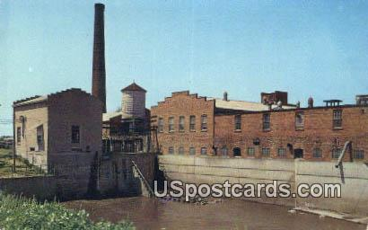 Mill Stream - Amana, Iowa IA Postcard