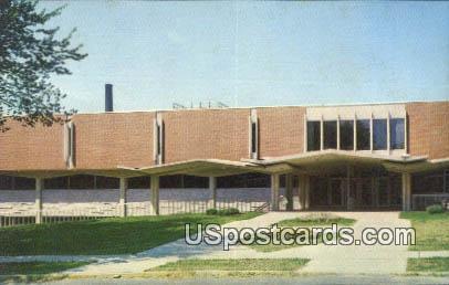 New Library, University of Northern Iowa - Cedar Falls Postcard