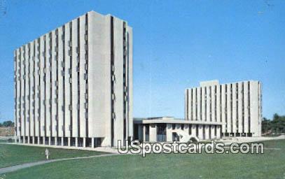 High Rise, Bender & Dance Halls - Cedar Falls, Iowa IA Postcard
