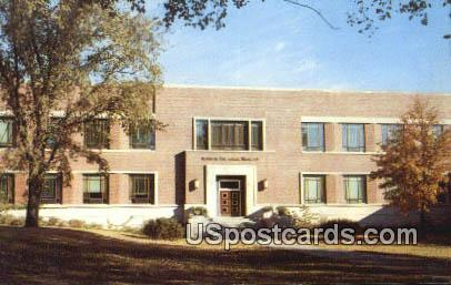 Atomic Research Building, Iowa State College - Ames Postcard