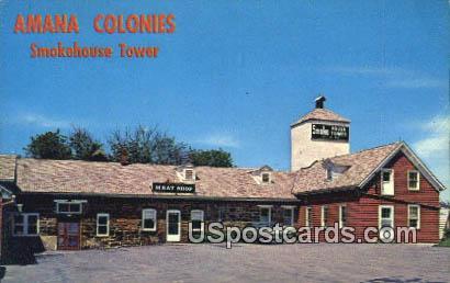 Amana Colonies Meat Shop - Iowa IA Postcard