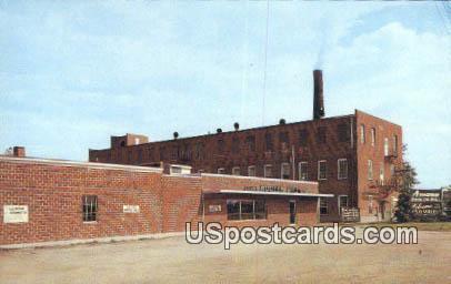 Amana Woolen Mills - Iowa IA Postcard