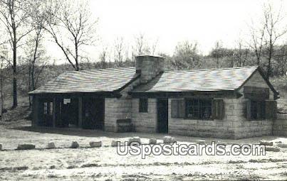 Real Photo - South Shelter - Maquoketa, Iowa IA Postcard