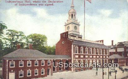Independence Hall - Misc, Iowa IA Postcard