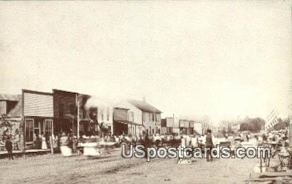 Repro -  Fire May 30, 1890 - Misc, Iowa IA Postcard