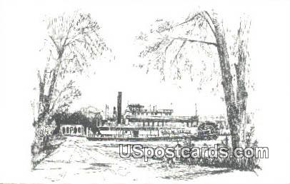 George M Verity Riverboat Museum - Keokuk, Iowa IA Postcard