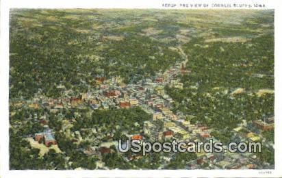 Council Bluffs, Iowa Postcard      ;      Council Bluffs, IA