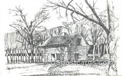 Abbie Gardner Sharp Cabin - Arnolds Park, Iowa IA Postcard
