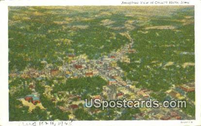Council Bluffs, IA Postcard      ;      Council Bluffs, Iowa