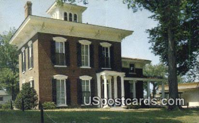 Russell Lamson House - Waterloo, Iowa IA Postcard