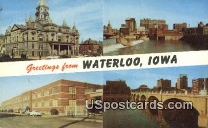 Waterloo, Iowa Postcard      ;      Waterloo, IA