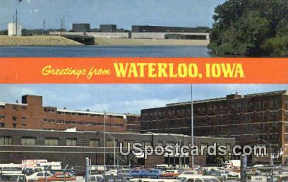 John Deere & Company - Waterloo, Iowa IA Postcard