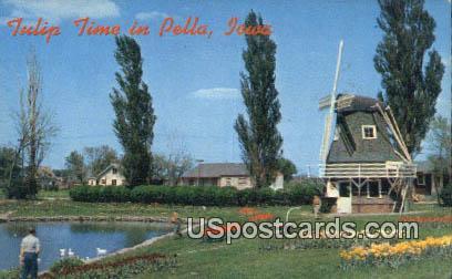 Tulip Time - Pella, Iowa IA Postcard