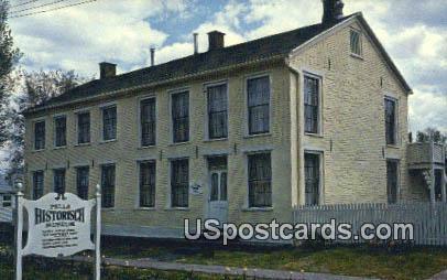 Wyatt Earp Boyhood Home - Pella, Iowa IA Postcard