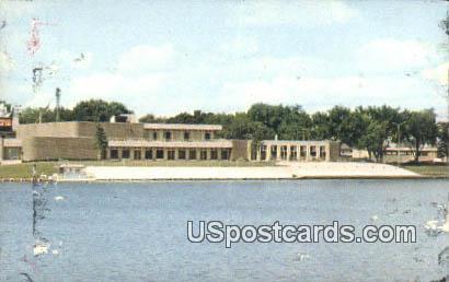 Recreation & Arts Center - Waterloo, Iowa IA Postcard