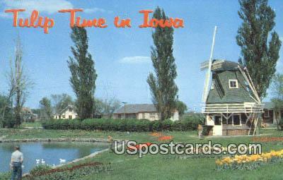 Tulip Time - Misc, Iowa IA Postcard