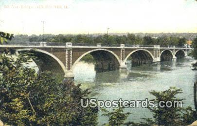 8th Avenue Bridge - Des Moines, Iowa IA Postcard
