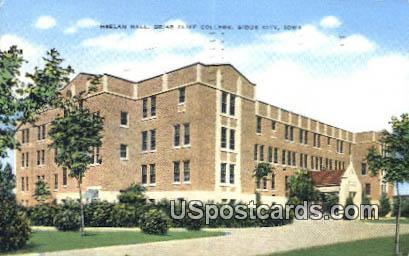 Heelan Hall, Briar Cliff College - Sioux City, Iowa IA Postcard