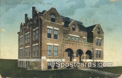Boys & Girls Home - Sioux City, Iowa IA Postcard