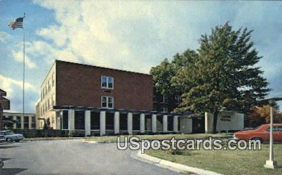 Sartori Hospital - Cedar Falls, Iowa IA Postcard