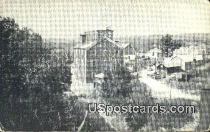 Potters Grain Mill - Davenport, Iowa IA Postcard